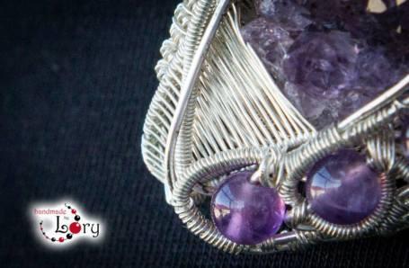 bijuterii handmade ametist natural 1