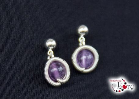 bijuterii handmade ametist natural 10