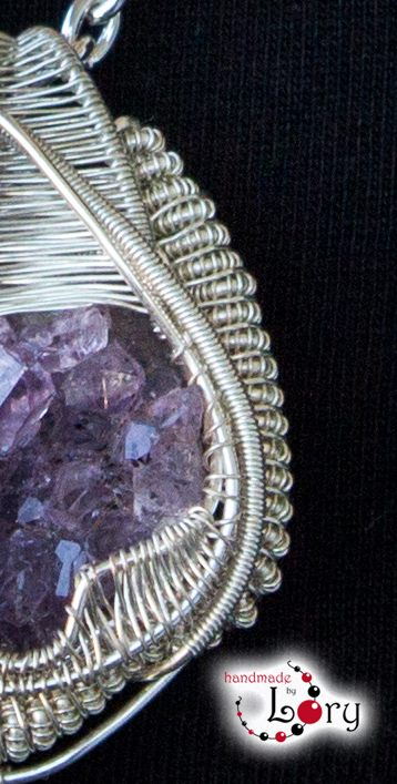 bijuterii handmade ametist natural 12