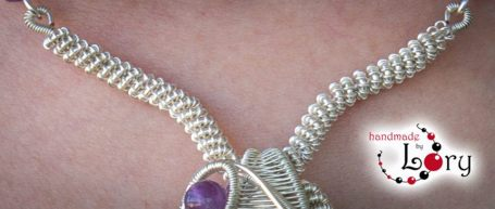 bijuterii handmade ametist natural 13