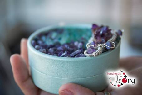 bijuterii handmade ametist natural 14