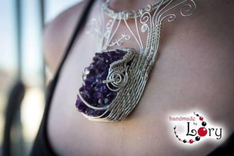 bijuterii handmade ametist natural 16