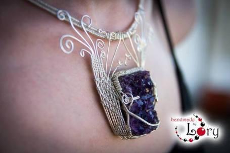 bijuterii handmade ametist natural 19