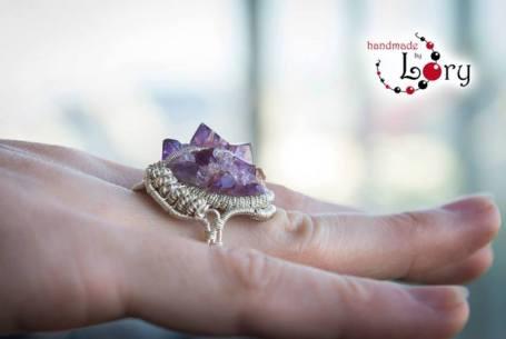 bijuterii handmade ametist natural 20