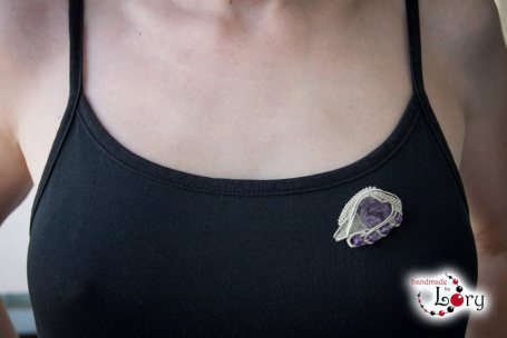 bijuterii handmade ametist natural 6