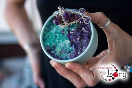 bijuterii handmade ametist natural 7