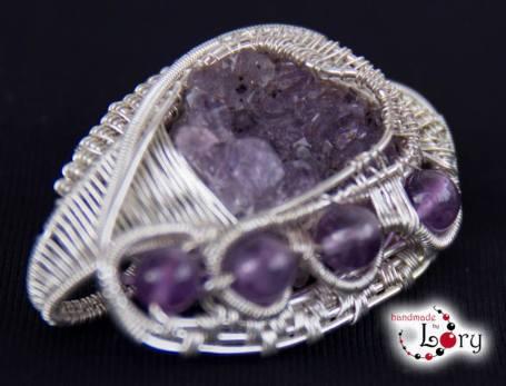 bijuterii handmade ametist natural 9