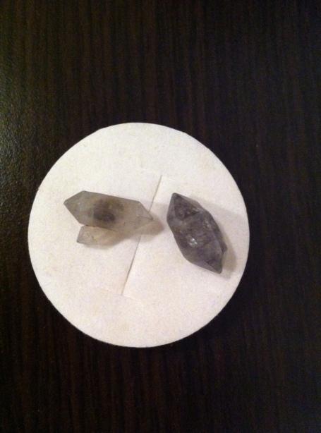 DIAMANTE HERKIMER - expo mineralia bacau 2014