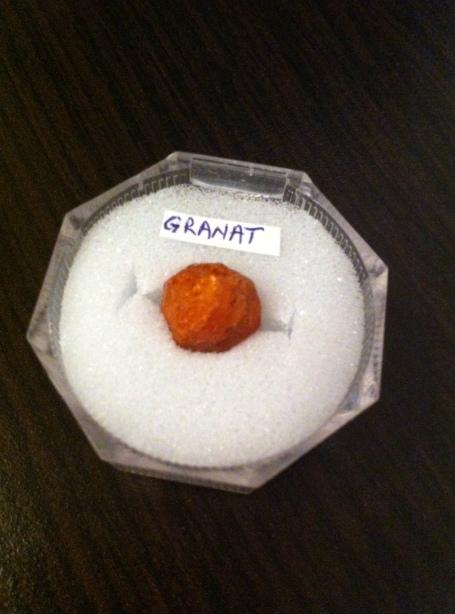 GRANAT - expo mineralia bacau 2014
