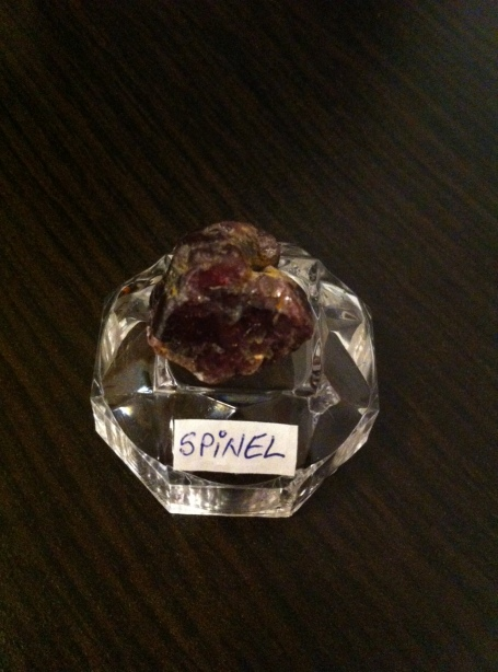 SPINEL - expo mineralia bacau 2014