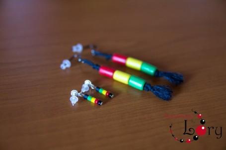 cercei handmade rasta 3